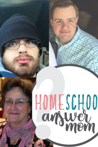 Picture of the Homeschool Answer Mom and Sons