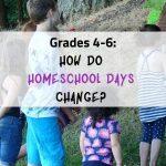 Homeschool Grades 4-6 on a field trip