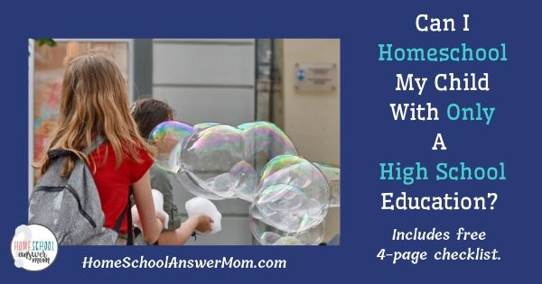 Homeschooled Student Wearing Backpack Blowing Bubbles