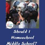 Middle school homeschool football team