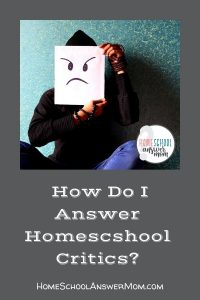 homeschool critic with questions he wants answered about homeschooling
